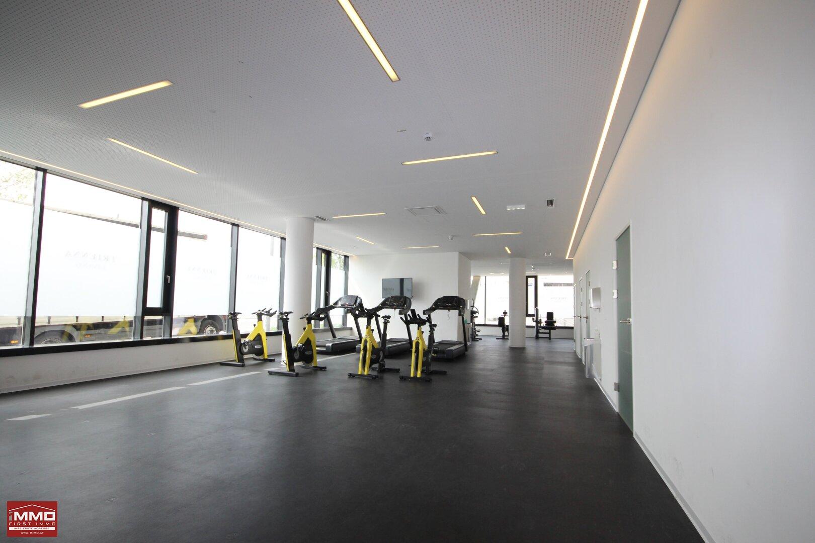 Fitnesscenter Cardiobereich