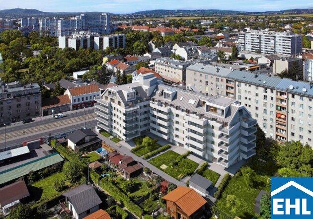 Brünner Straße: PROVISIONSFREIE perfekt aufgeteilte Dachgeschosswohnung