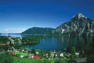 Design-Villa am Traunsee mit See- und Traunsteinblick