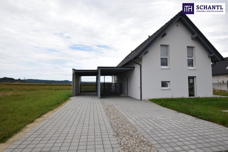 Preishit! Investieren Sie im Grazer Speckgürtel - Einfamilienhaus mit 4 Zimmer + Carport + Garten in Wildon!!