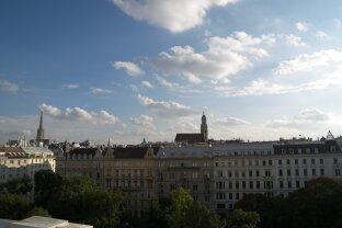 Prestigereiches Wohnen - Dachgeschoßwohnung - mit Flair im Zentrum Wiens - RUDOLFSPLATZ!