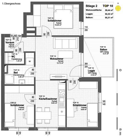 Foto von NEU! ++ ERSTBEZUG ++ NÄHE U1 ++ 41 Exklusive 2-4 Zimmer Eigentums-Wohnungen mit Freiflächen  ++ 17 PKW STELLPLÄTZE ++ RUHIGE LAGE ++ NEUBAU 2018/2019 ++ Beziehbar ab Herbst 2019 ++ 1210 Wien ++ TOP 2/10