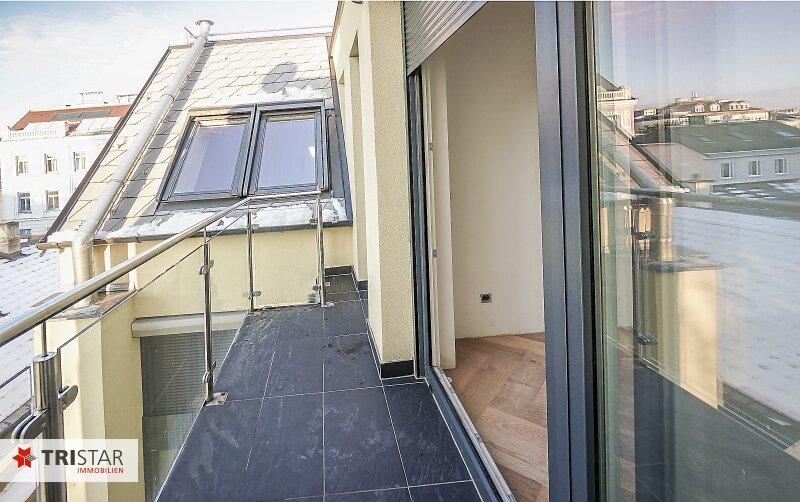 NEU! ++ ERSTBEZUG: Dachgeschosswohnung in 1130 Wien, Neubau, 3 Zimmer + Balkon + Terrasse + Dachterrasse mit Wienblick  (Top 7) ++ /  / 1130Wien / Bild 5