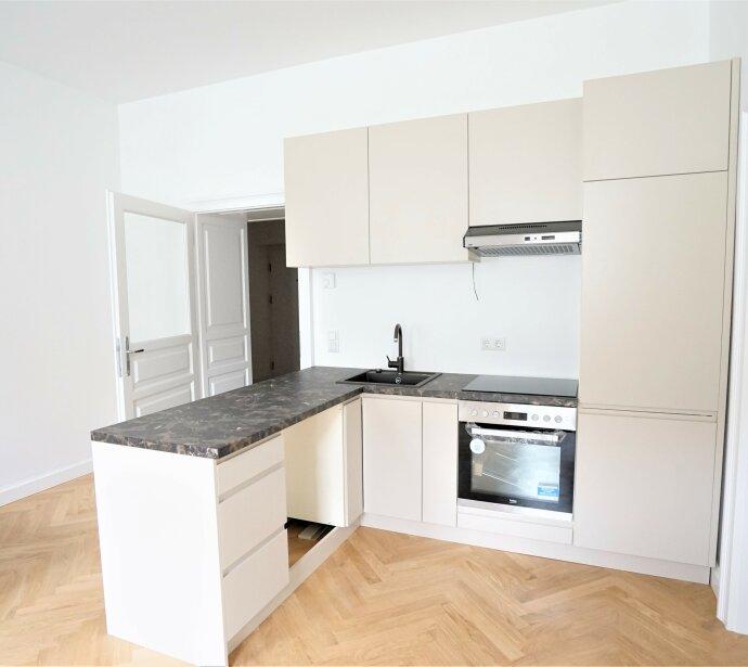 Wunderschöne 3 Zimmer Altbauwohnung - Erstbezug in zentraler Lage 1060 Wien!