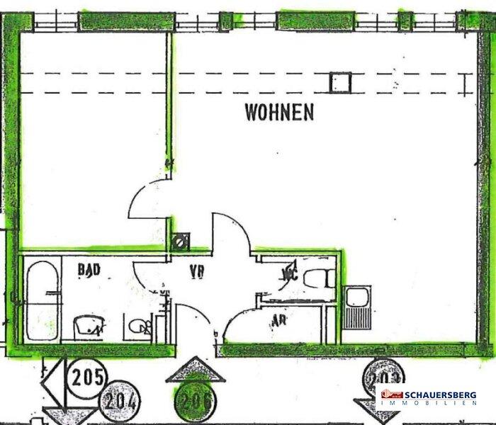 Helle 2-Zimmerwohnung im Zentrum von Andritz /  / 8045Graz / Bild 8