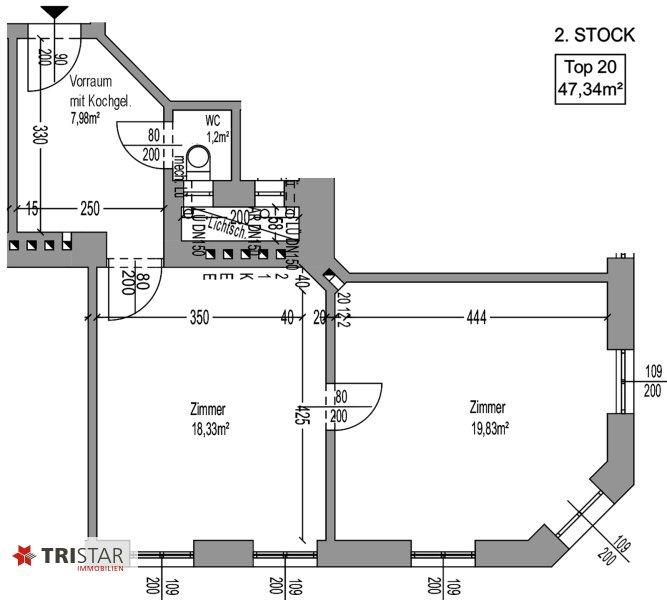 NEU! + 2 Zimmer Altbau-Wohnung + 1160 Wien + /  / 1160Wien / Bild 13