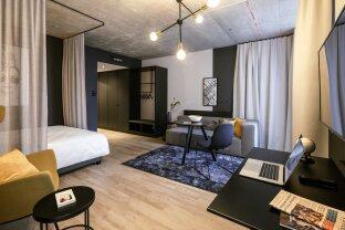 Provisionsfrei: Vollmöbliertes Apartment in Bestlage im QBC am Hauptbahnhof Wien - STUDIO