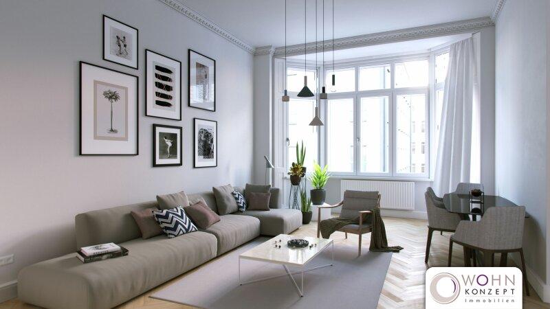DER KANDLHOF - repräsentatives urbanes Wohnen im FLAIR des JUGENSTILS - 1070 Wien