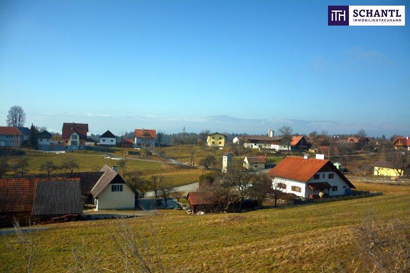 Reichlich Platz für Ihr Wohnprojekt! Grundstück in Südwesthanglage mit Fernblick auf die Koralm + Ruhelage /  / 8503Sankt Josef In der Weststeierm / Bild 2