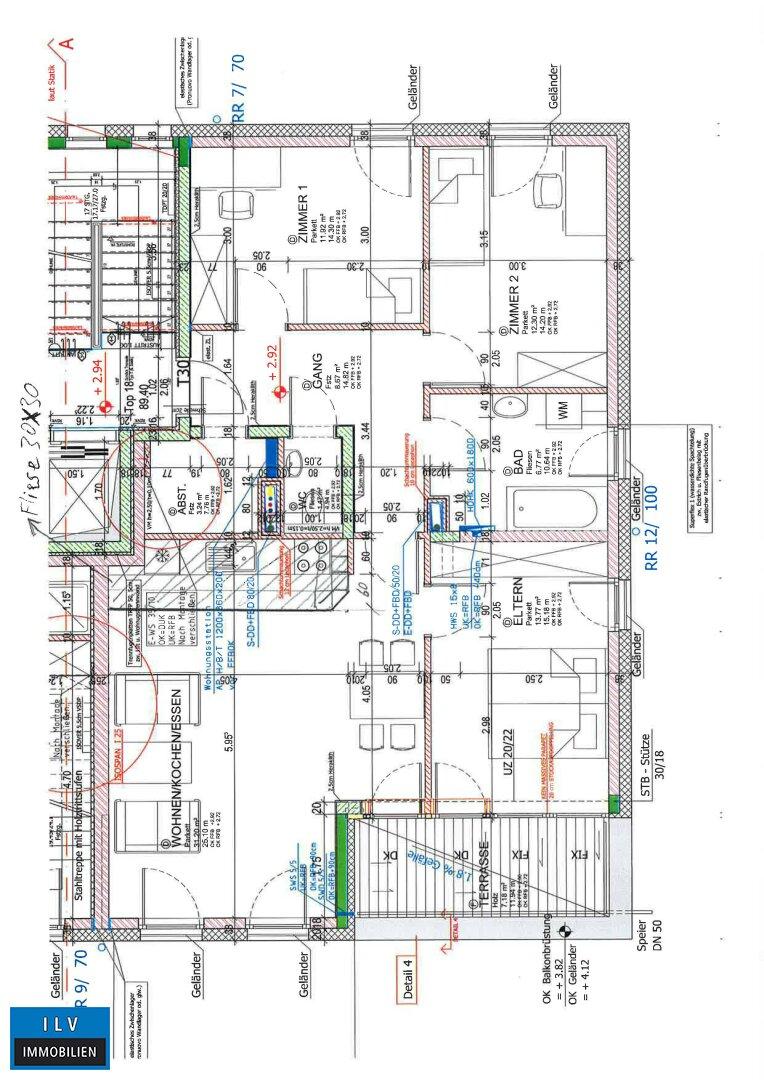 Raumeinteilungsplan