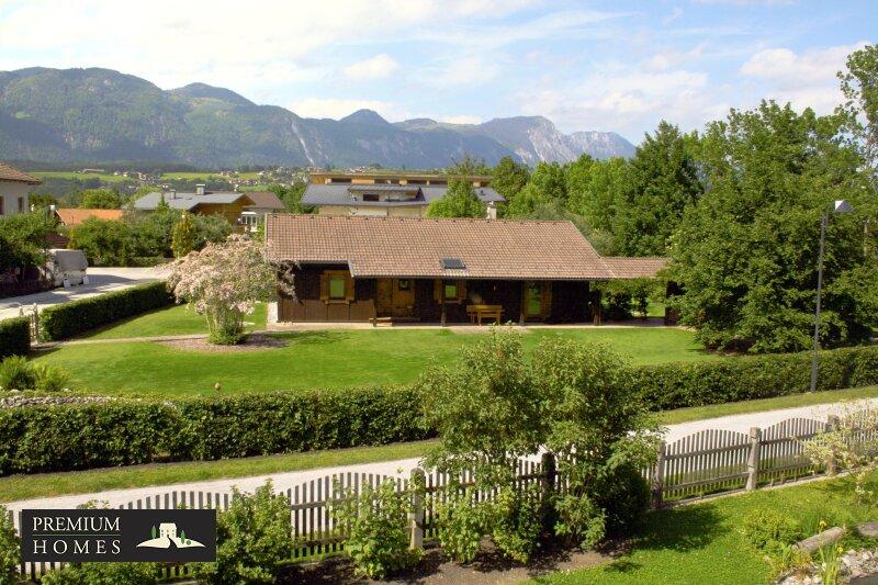 Beispielbild für KUNDL - Charmantes Haus aus Holz 4-Zimmer (Riegelbauweise mit Innenputz) mit großem Grundstück & Biotop