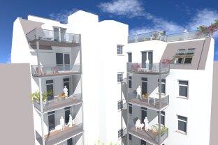 Erstbezug, Hoch-Exklusive und Moderne 3 Zimmer Dachgeschosswohnung + Balkon