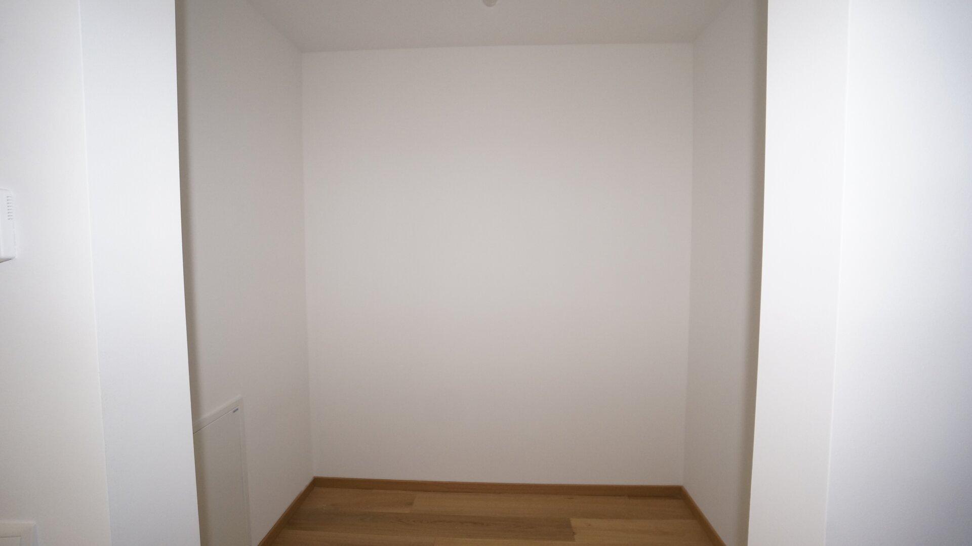 Schrankraum im Schlafzimmer