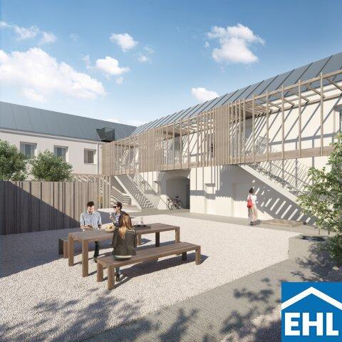 Breitenleer Gärten: Reihenhaus mit 4 Zimmern, Terrasse und Dachterrasse