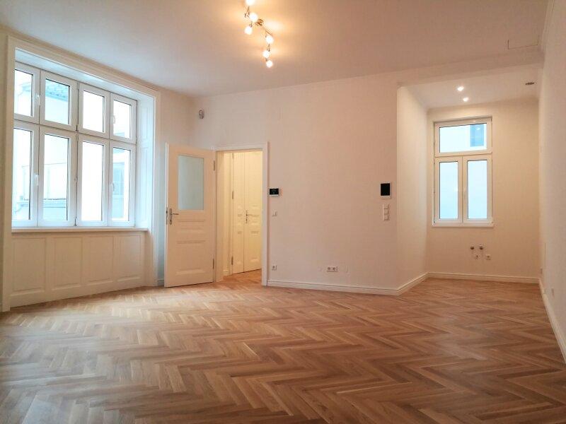ERSTBEZUG - 1 Zimmer ALTBAU top saniert  -  1030 Wien - 2. OG Top 12 ---- U Bahn Nähe - ZIMMER HOFSEITIG /  / 1030Wien / Bild 0