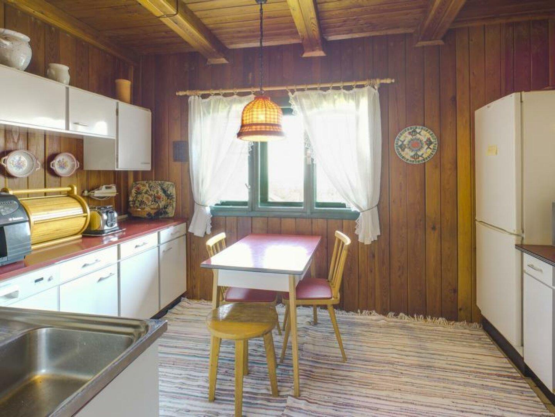Küche mit Blick über Wien