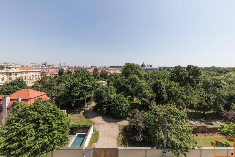 Botschaftsviertel - klimatisierte Altbauwohnung mit Blick in den Park des Palais Schwarzenberg /  / 1040Wien / Bild 8