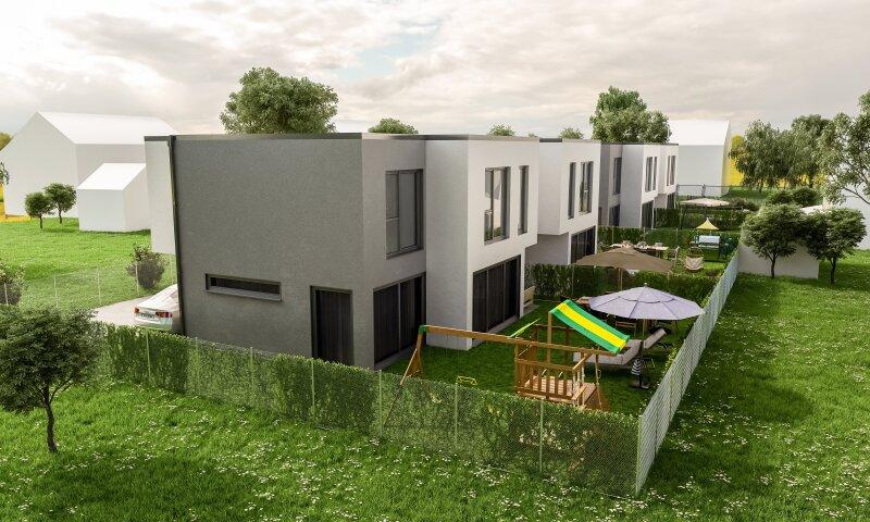Provisionsfrei: Wohnen in Unterwaltersdorf -schmucke Doppelhaushälfte in ansprechender Lage
