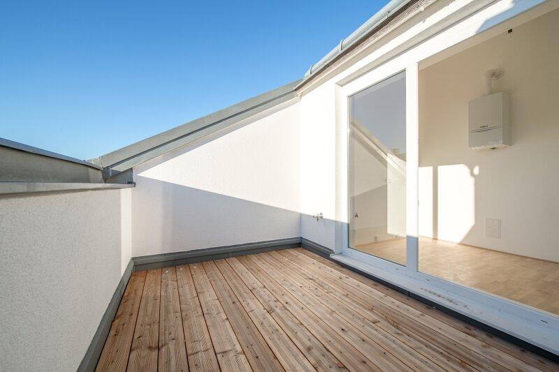 ++NEU** Kernsanierter DG-ERSTBEZUG! 3-Zimmer+getrennte Küche! 7m² uneinsehbare Terrasse! **VIDEOBESICHTIGUNG** PROVISIONSRABATT! /  / 1050Wien / Bild 4