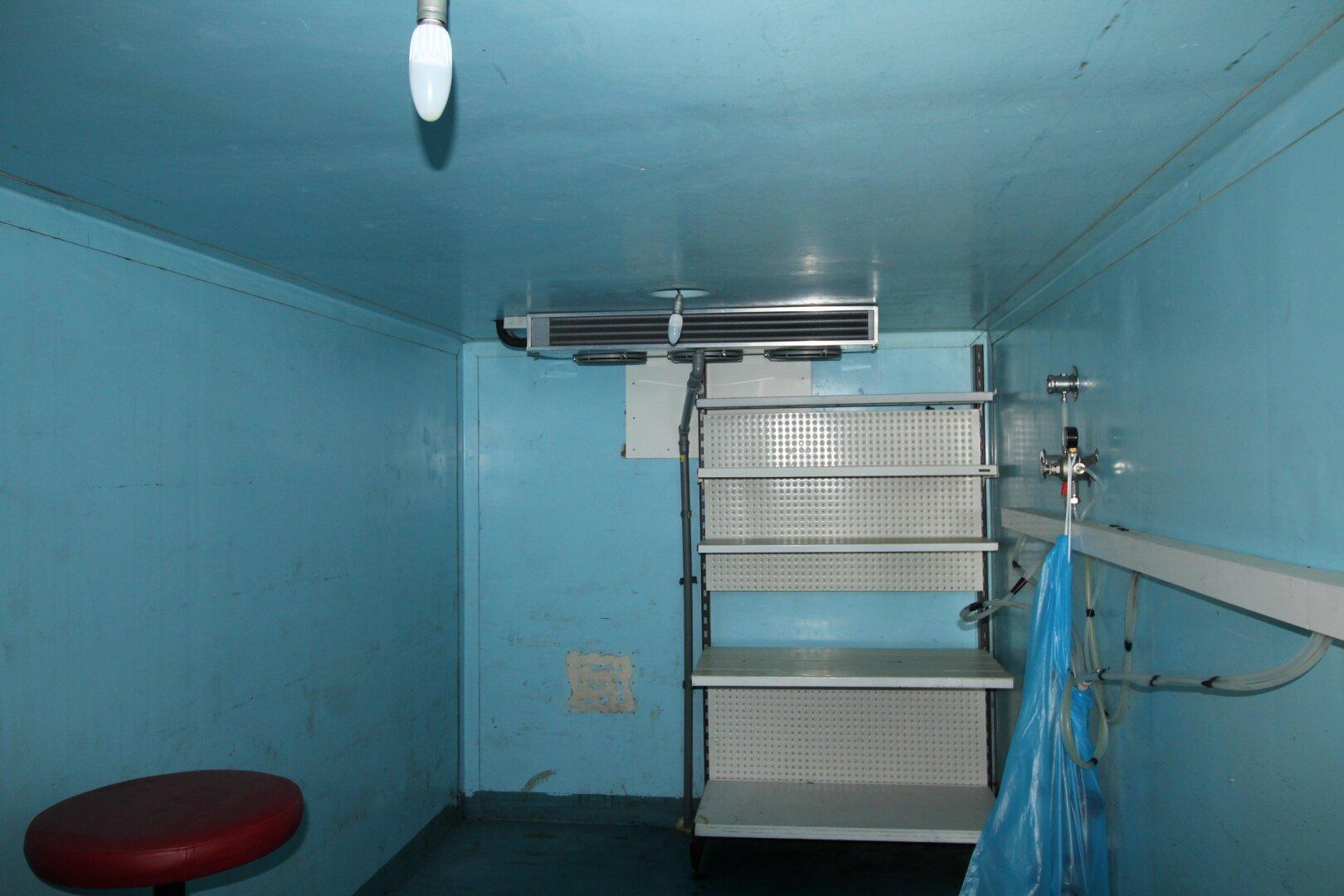 7,5 m² Kühlraum