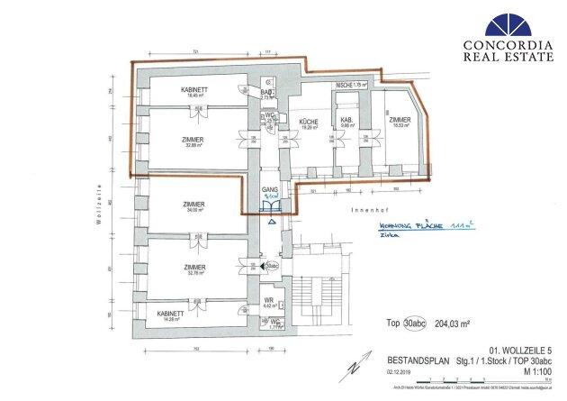 Wohnung 111 m²