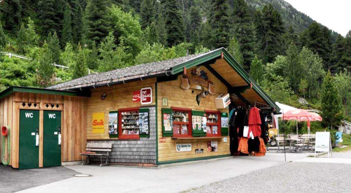 Profitable Jausenstation in der atemberaubenden Hochgebirgswelt am Schlegeis-Stausee im Zillertal