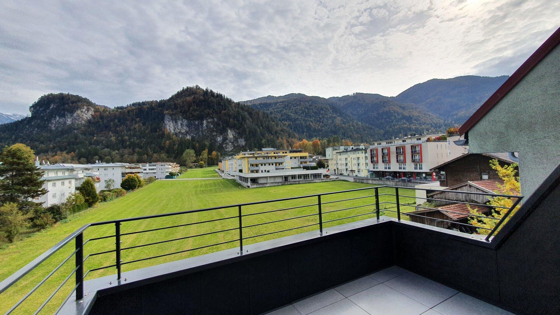 Großgarconniere Kufstein, Terrasse, Ausblick