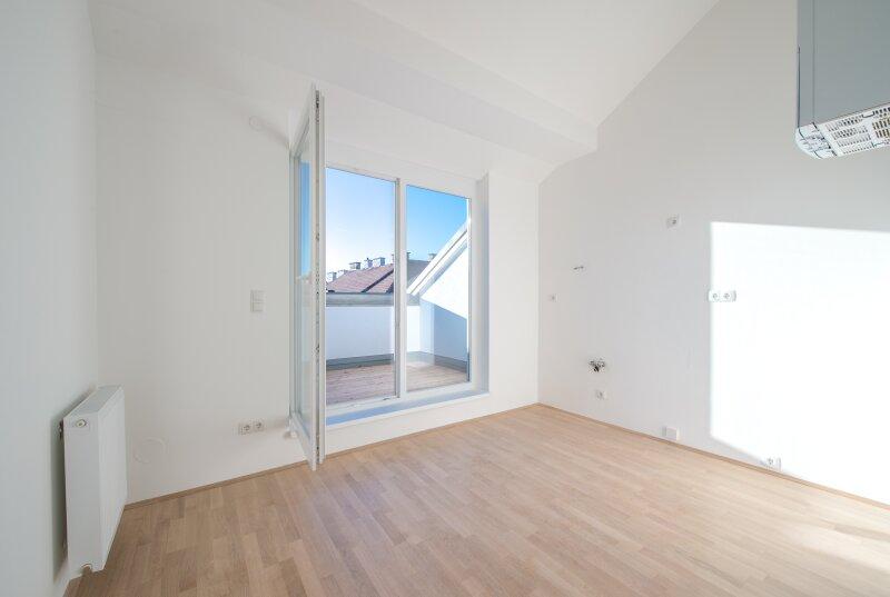 ++NEU** Kernsanierter DG-ERSTBEZUG! 3-Zimmer+getrennte Küche! 7m² uneinsehbare Terrasse! **VIDEOBESICHTIGUNG** PROVISIONSRABATT! /  / 1050Wien / Bild 0
