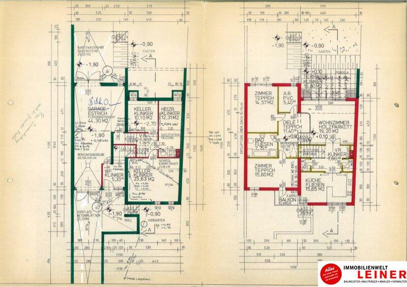 1110 Wien -  Simmering: Extraklasse - 1000m² Liegenschaft mit 2 Einfamilienhäuser Objekt_8872 Bild_847
