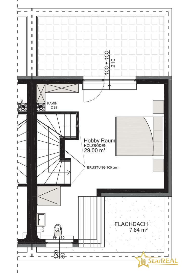 HAUS 6 Dachgeschoss