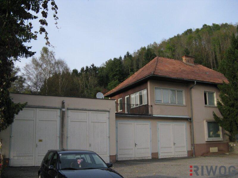 ##Wohn- Geschäftshaus mit 4 Doppelgaragen - Straßburg, Miete##