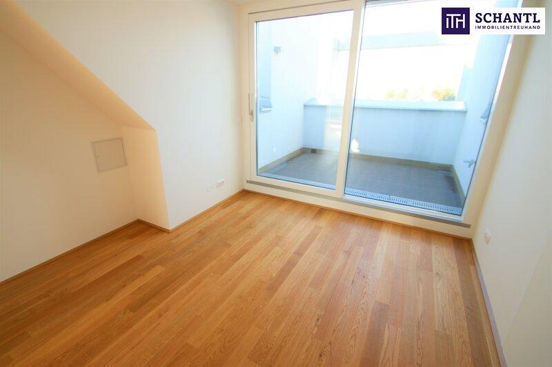 Zu Hause im Urlaub! Erstbezug im Dachgeschoss auf zwei Ebenen mit 4 Terrassen! Provisionsfrei!!! /  / 1220Wien / Bild 11