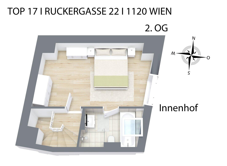 Grundriss 3D 2.OG