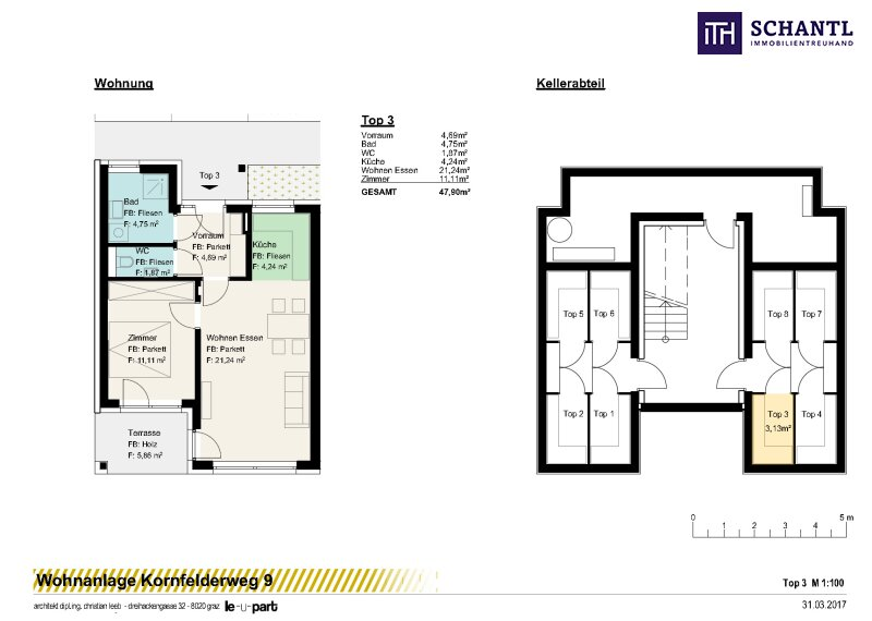 PÄRCHENTRAUM! Top aufgeteilte, charmante 2 - Zimmerwohnung mit Eigengarten und Parkplatz im grünen Straßgang/Ruhelage! /  / 8054Graz / Bild 1