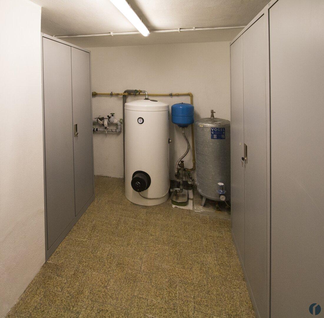 Technikraum im Keller