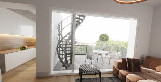 Foto von ++Hochwertig++ Ideal aufgeteilte 3-Zimmer Dachgeschoßwohnung neben dem AKH!!