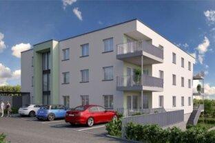 Terrassenwohnung in Aschach 99 m² mit Tiefgarage und 13m² Terrasse - Top 1