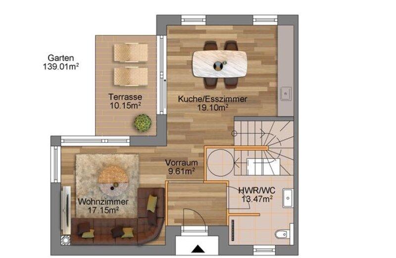 100% Provisionsfrei: Grenze Donaustadt - moderne Doppelhaushälfte in Grünruhelage für Jungfamilien /  / 1220Wien / Bild 9