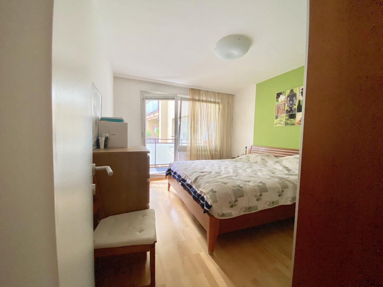 Zimmer 2 mit Loggia Ausgang