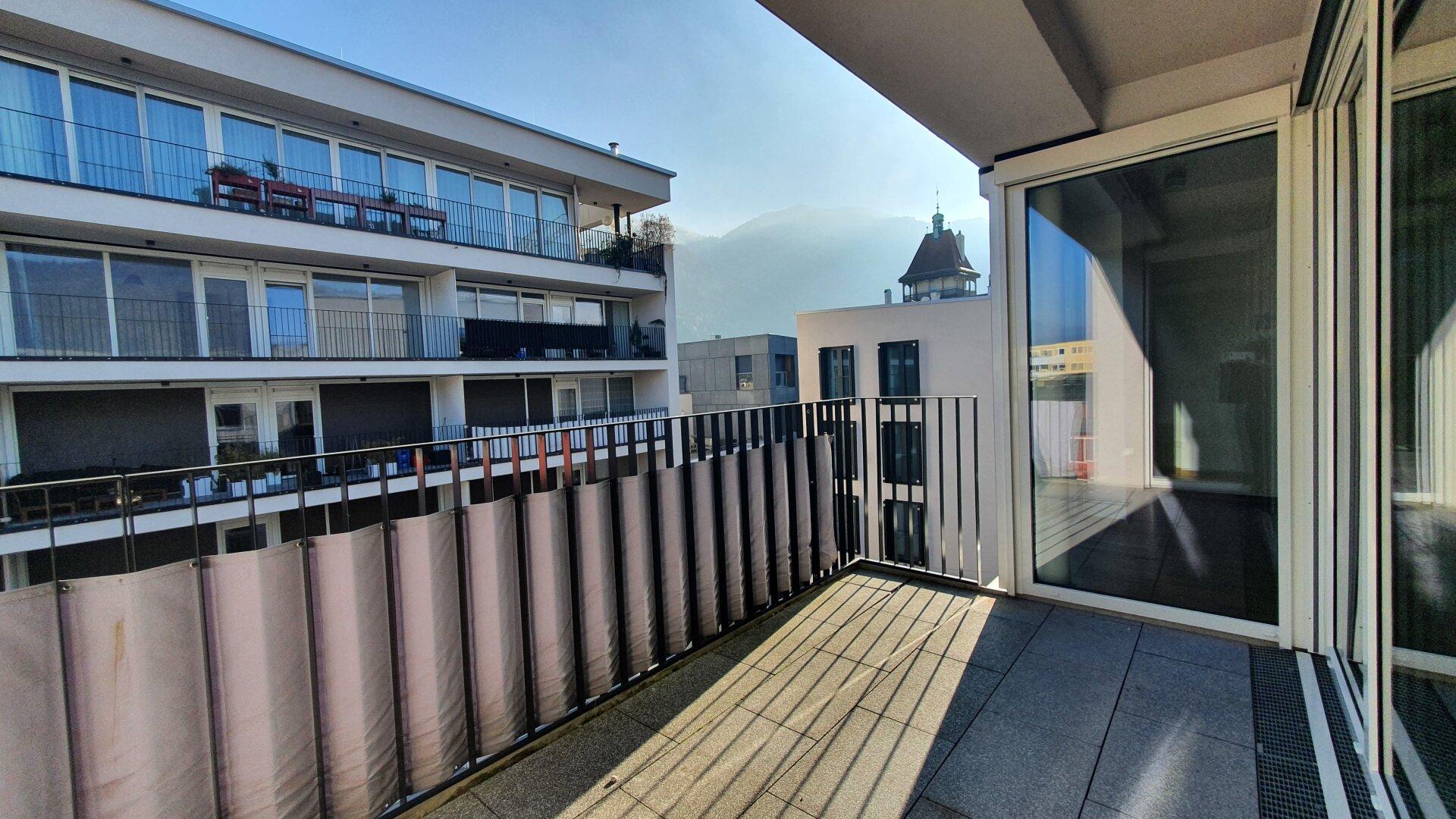 Loggia, 3-Zimmer Wohnung Kufstein Zentrum