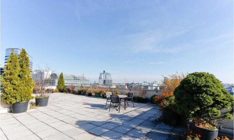 *Top sanierte 2-Zimmer-Wohnung mit 150m² Gemeinschaftsdachterrasse 360 grad Wienblick! /  / 1010Wien / Bild 5