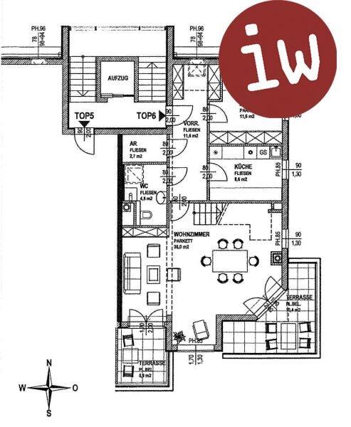 Luxus-Dachgeschosswohnung in Grünruhelage Objekt_635 Bild_91