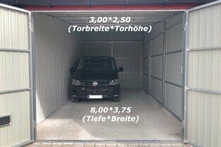 Garage/Lager ca. 8,00m x 3,75m mit 2,50m Durchfahrtshöhe PROVISIONSFREI!