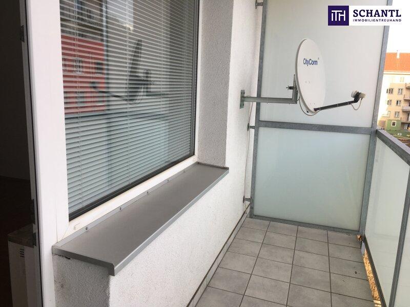 Süßer Studententraum! Leistbare Wohnung + Balkon in Uninähe ! MIETE INKL. BK, HK & UST!