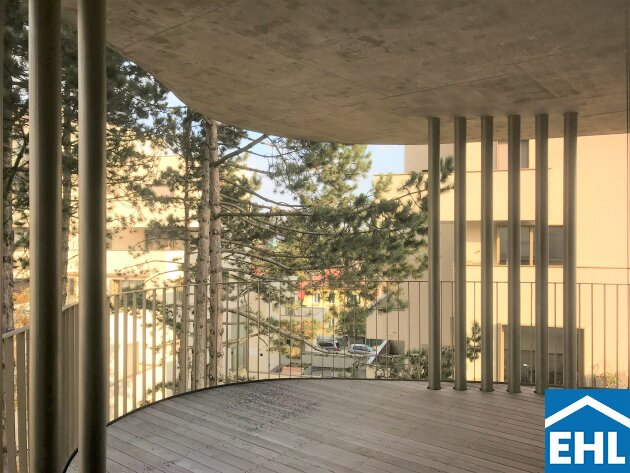 Erstbezug: 3-Zimmerwohnung mit exklusiver Freifläche in Grünruhelage