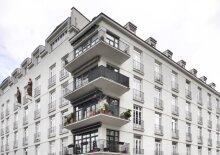 Helles Altbau-Appartement, U4