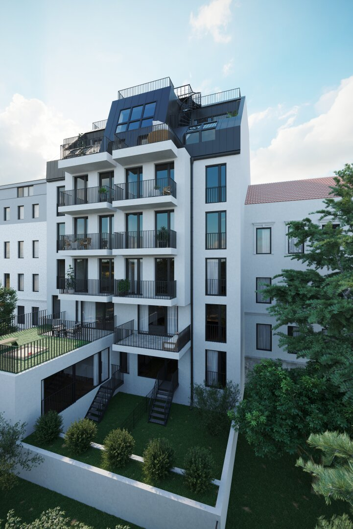 ASG 83 - Floridsdorf im Ursprung - modernes Wohnen in Topqualität (Projektansicht)