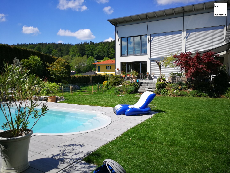 Sommerfrische am eigenen Pool