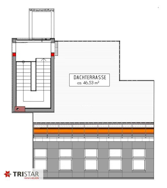 ++NEU++ 3-Zimmer-Dachgeschoßwohnung mit großer Dachterrasse im Generalrevitalisierte Altbau-Haus ++Nähe U-Bahn (U3) +++ /  / 1150Wien / Bild 18