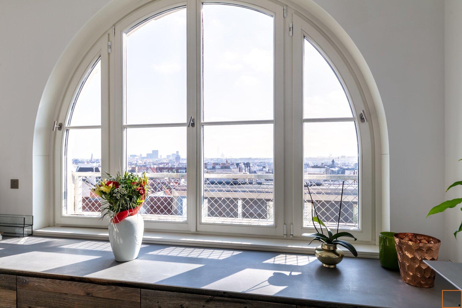 Blick aus dem Küchenbereich